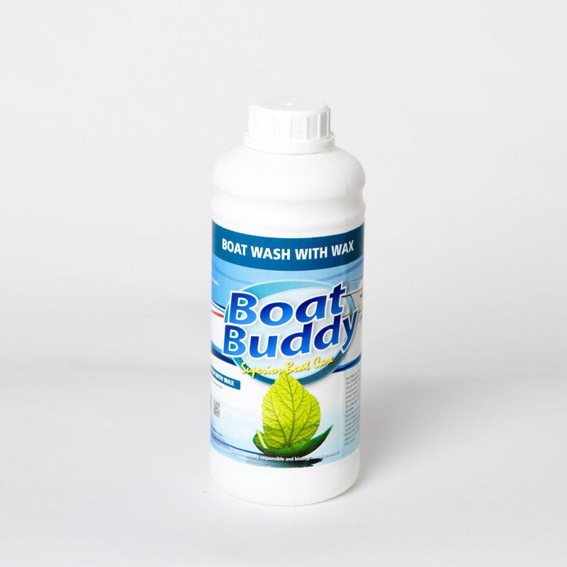 Boat Wash with Wax