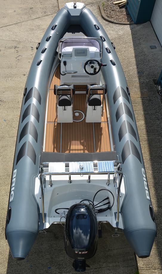 BRIG Navigator 610HJ - Military Grey - Overhead