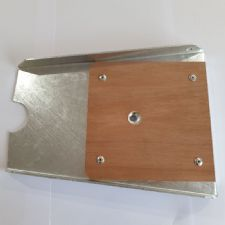 Transom plate