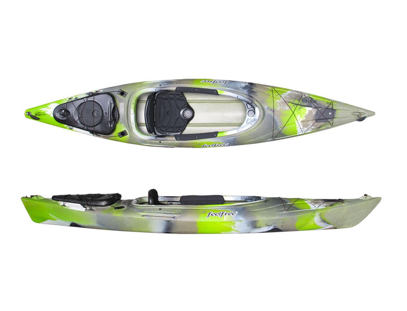Windermere Lime Camo Kayak