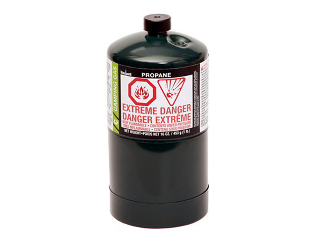 Disposable LPG Canister