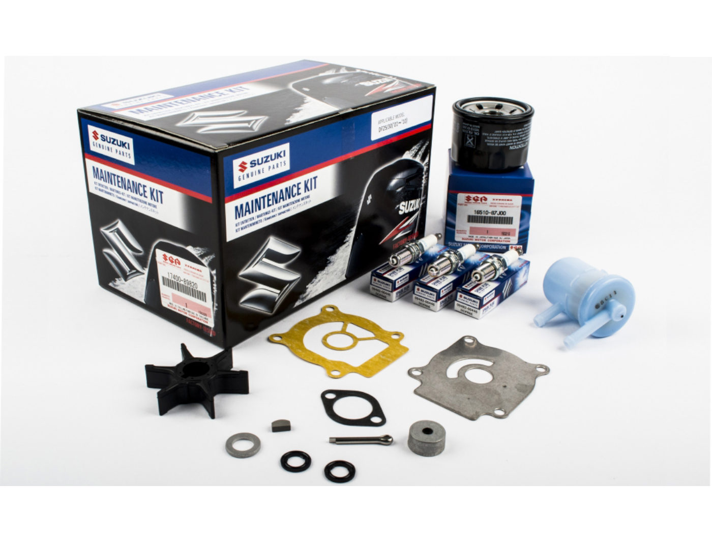 Suzuki DF25/30 Marine Maintenance Service Kit ('01-'10)