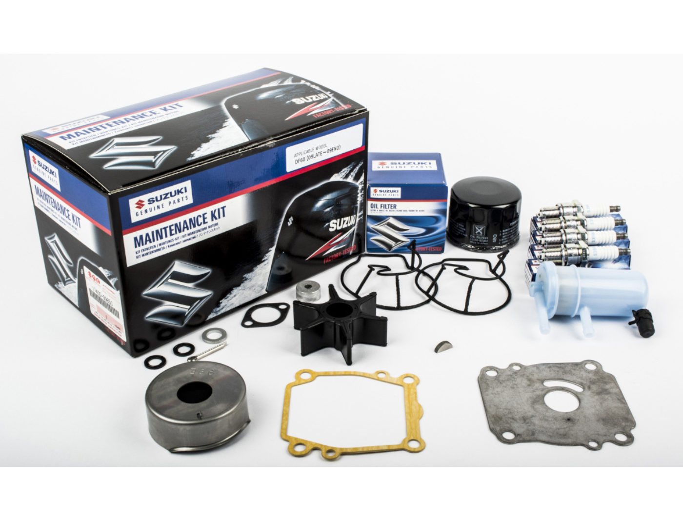 Suzuki DF60 Marine Maintenance Service Kit ('09LATE-'09END)
