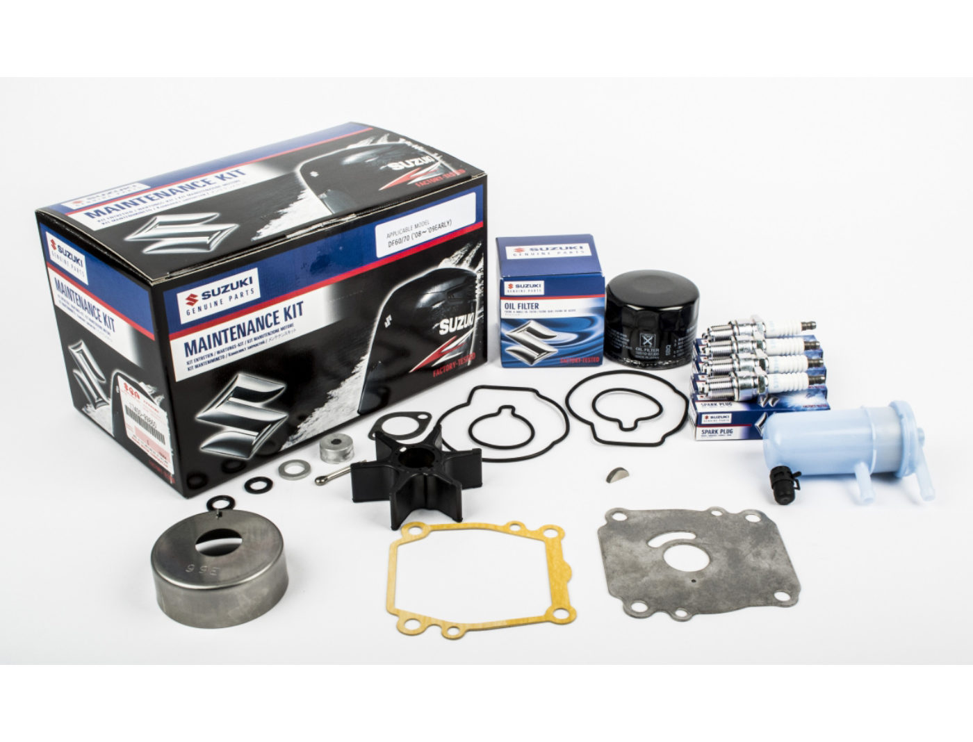 Suzuki DF60/70 Marine Maintenance Service Kit ('08-'09EARLY)