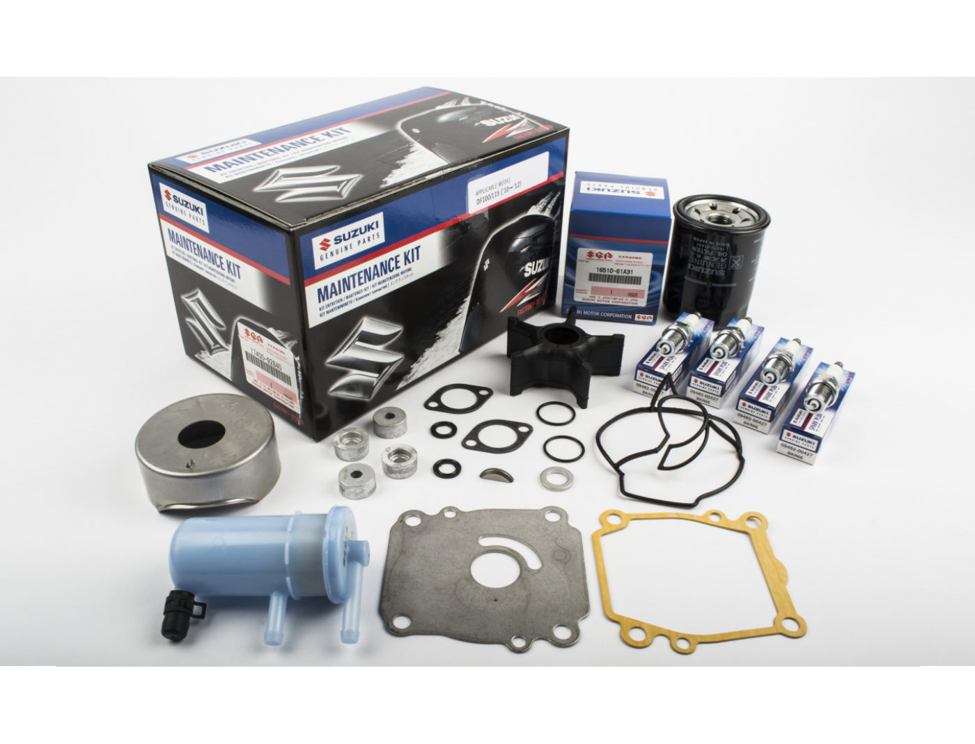 Suzuki DF100/115 Marine Maintenance Service Kit ('10-'12)