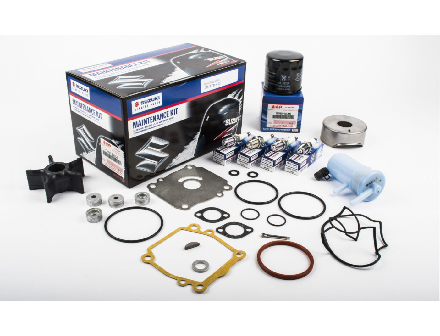 Suzuki DF140 Marine Maintenance Service Kit ('10-'12)