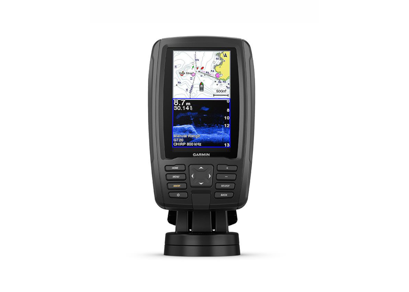 Garmin ECHOMAP Plus 45CV GPS/Plotter/Sonar Front On