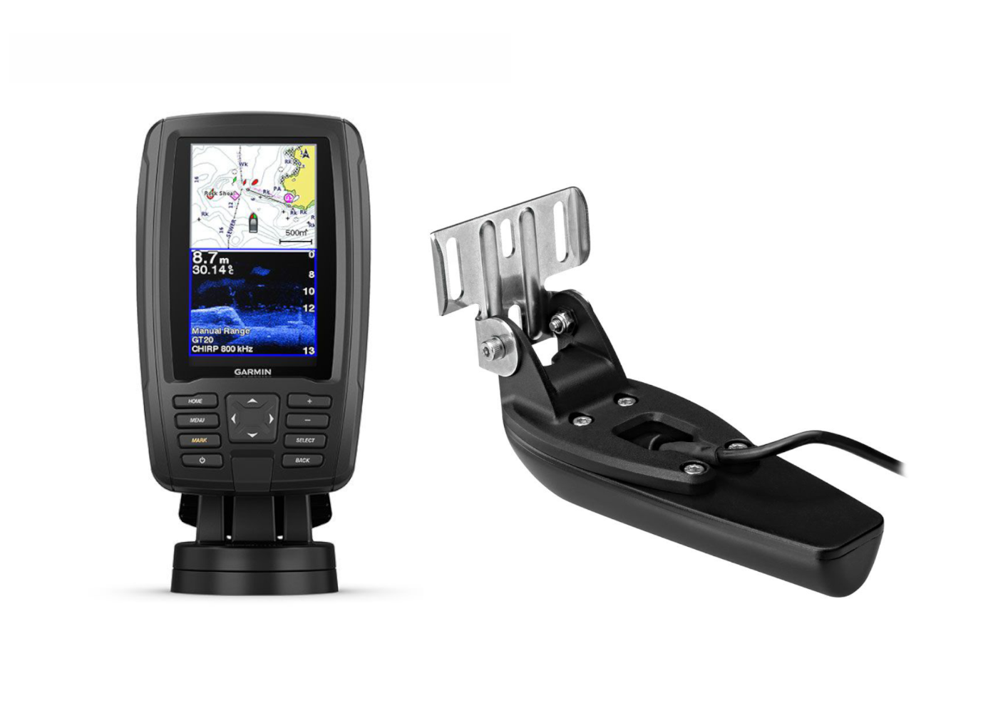 Garmin ECHOMAP Plus 45CV & Transducer Kit