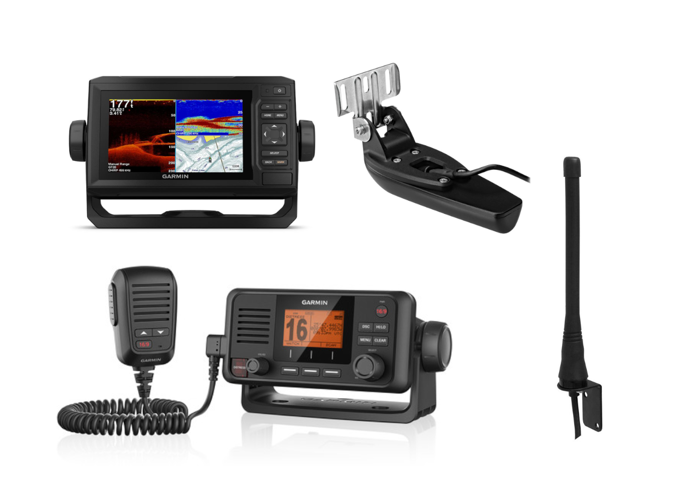 Electronics Pack 2 - Garmin 65CV & VHF115i Kits