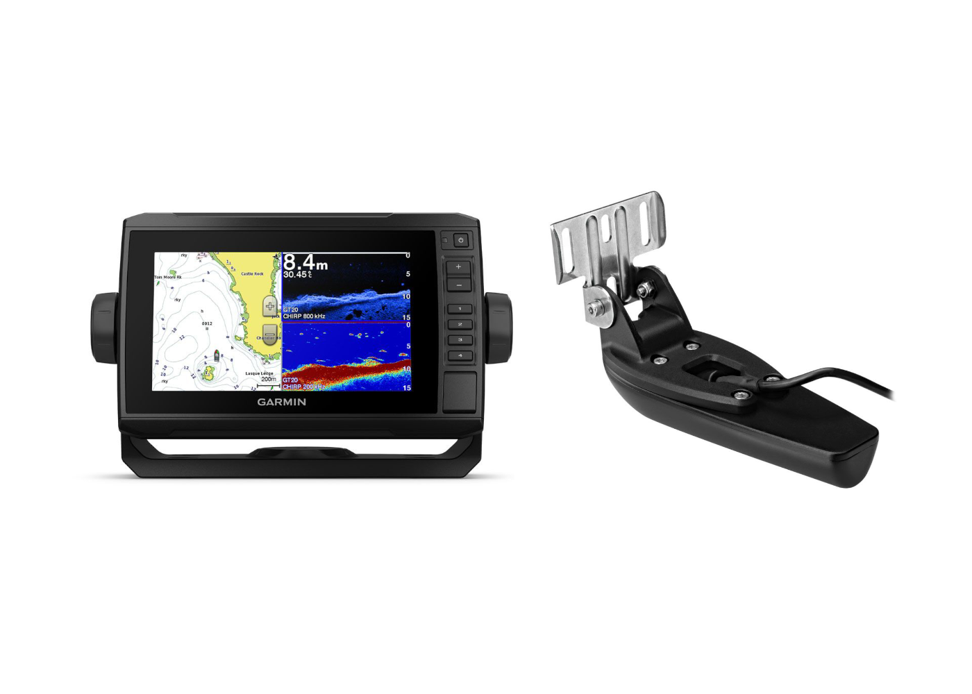 Garmin ECHOMAP Plus 75CV & Transducer Kit