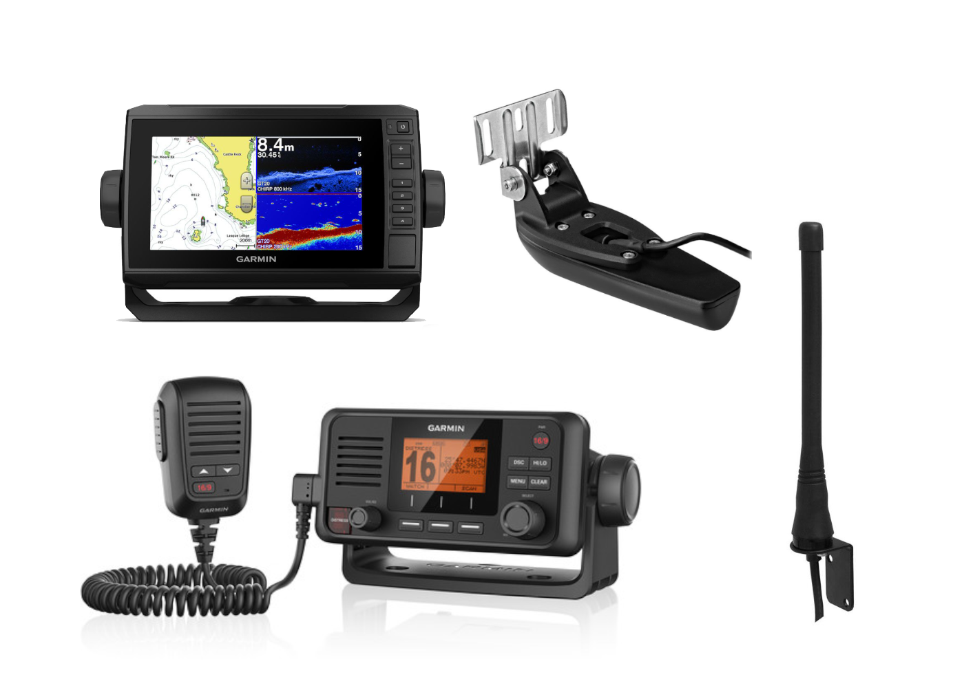 Electronics Pack 3 - Garmin 75CV & VHF115i Kits