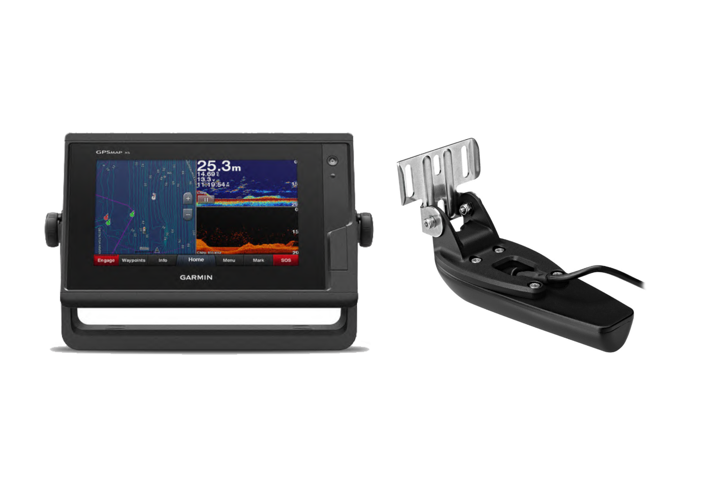 Garmin GPSMAP 722XS & Transducer Kit