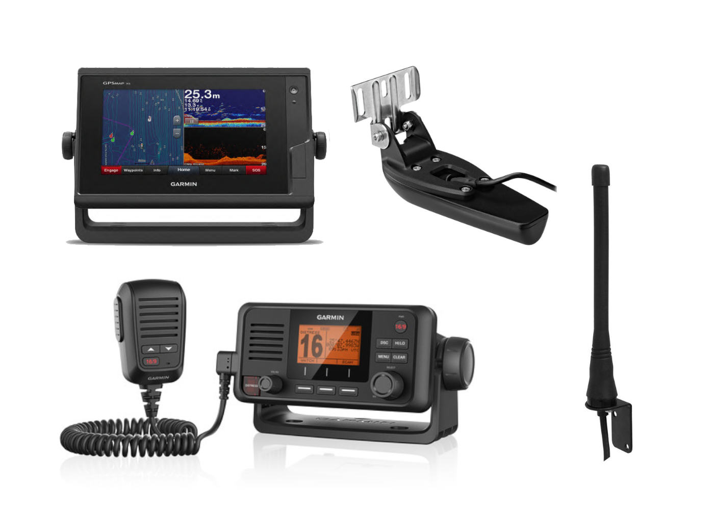Electronics Pack 4 - Garmin 722XS & VHF115i Kits
