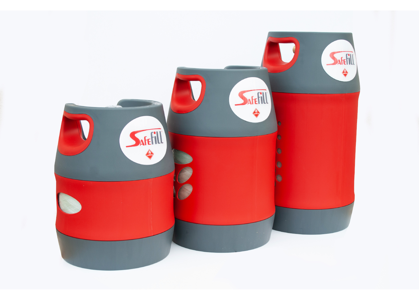 Refillable Gas Cylinders (all sizes)