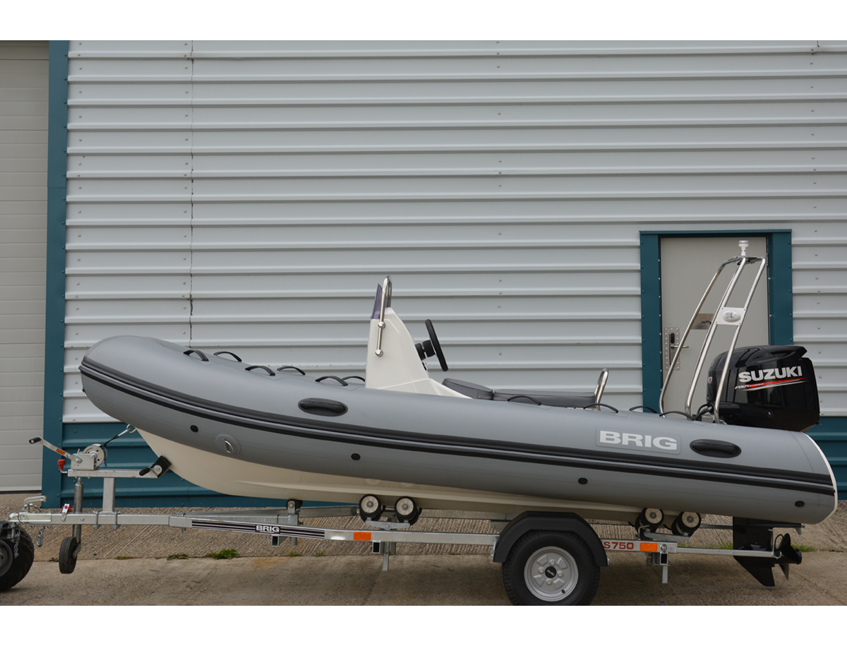 BRIG Falcon Rider 420HS - Neptune Grey - Side