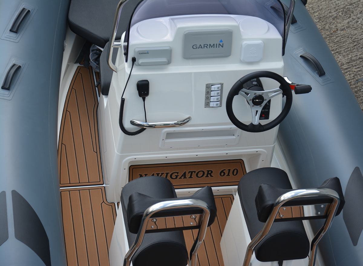 BRIG Navigator 610HJ - Military Grey - Overhead Console