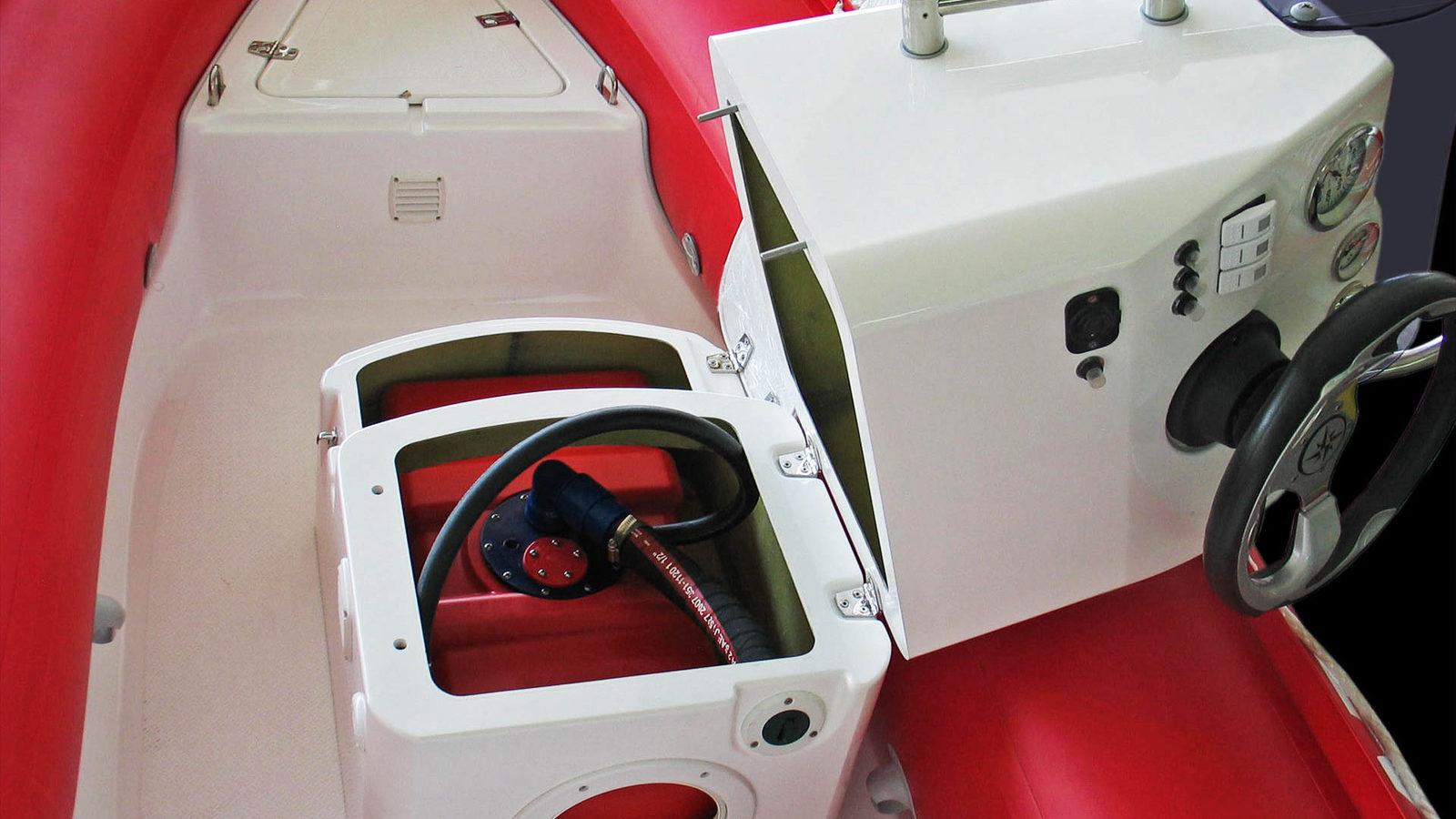 Brig Falcon fuel tank