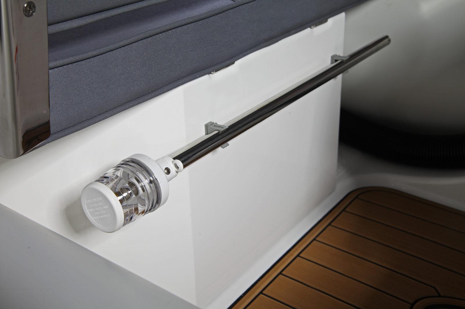 Brig Tender nav light pole